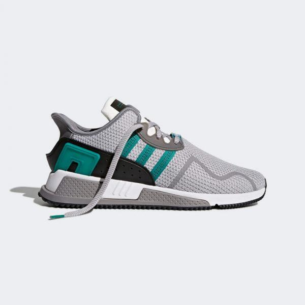 f1d7bd87436cc Adidas EQT Cushion ADV Grey   Sub Green   Running White AH2232