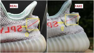 830e8b6514ec1b Fake Adidas Yeezy 350 V2 Blue Tint 2.0 Spotted-Quick Ways To Identify Them