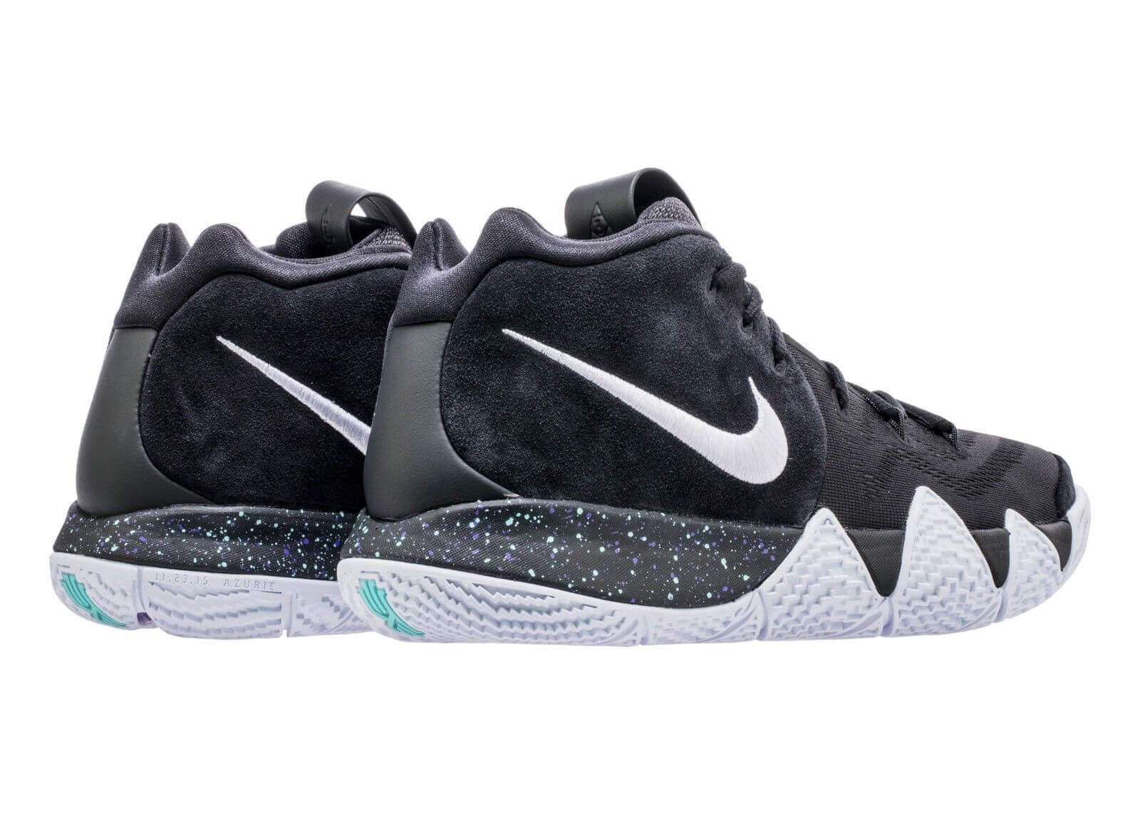 new arrival cfb05 db9fe Nike Kyrie 4 943806-002 1. Nike Kyrie 4 Black White 943806-002 Release Date  Photos  thatdope  sneakers  luxury  dope  fashion  trending