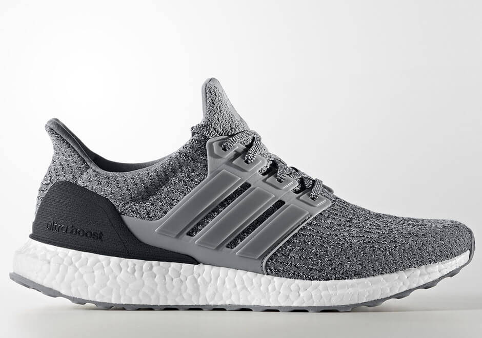 adidas UltraBOOST 3.0 S82023 Grey/Black-White