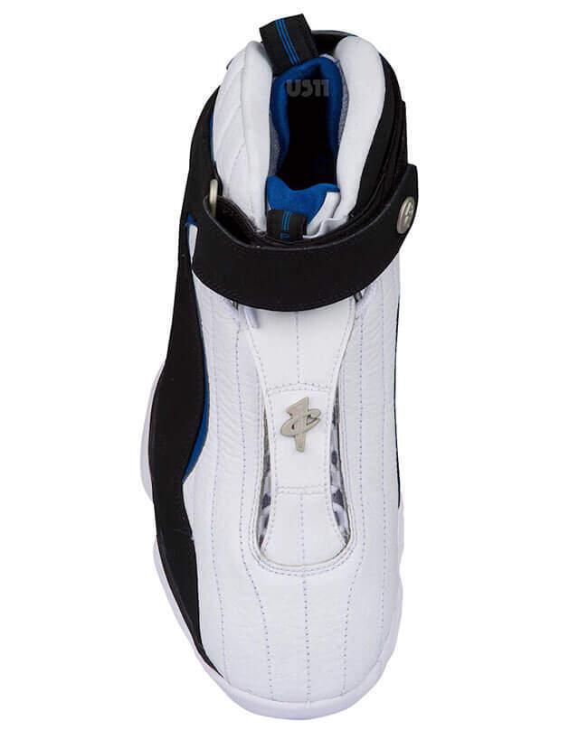 Nike Air Penny IV White Black Atlantic Blue (Orlando Magic Home ... dcb37a238231