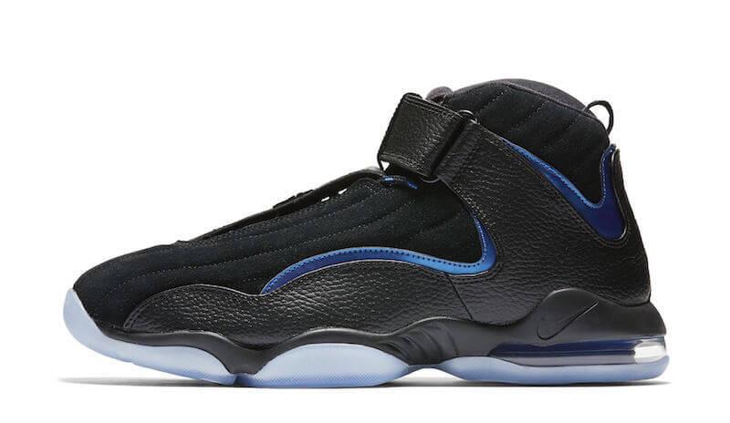efeaa0b023673b Nike Air Penny IV Black Atlantic Blue (Orlando Magic Away) – ARCH-USA