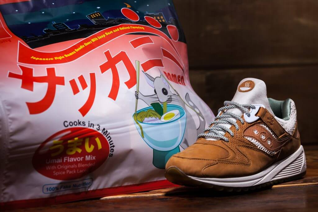 3ae1e9d2b4 Collect This | Saucony Originals – Ramen Grid 8500 Holiday Drop