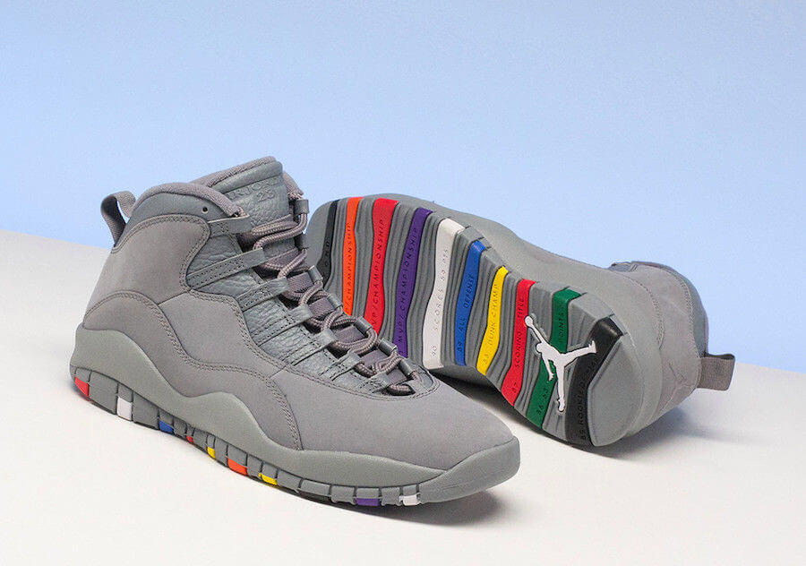 timeless design 946de 80f90 Air Jordan 10 Cool Grey: Fruits Of Nike Trimming Down The ...