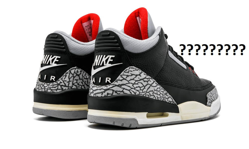 bb445c544c4 How Many Pairs Of The Black Cement Air Jordan 3 Were Produced  – ARCH-USA