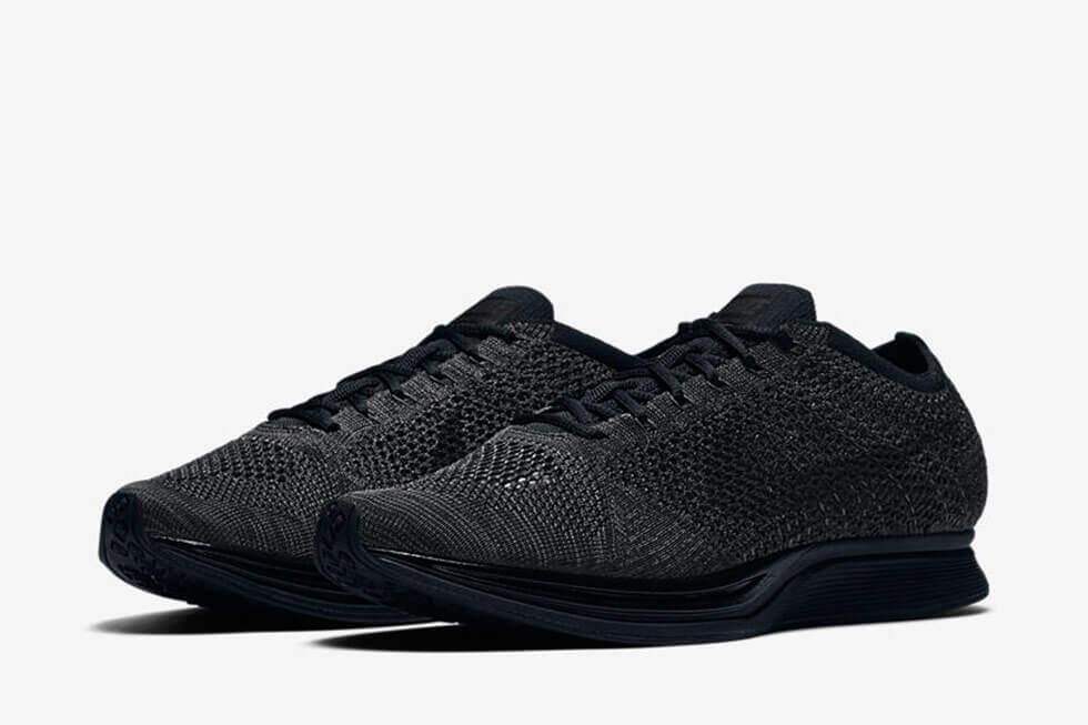e882a19691f Nike Triple Black Nike Flyknit Racer 526628-009 – ARCH-USA