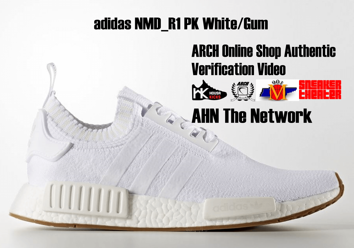 adidas NMD R1 PK WhiteGum | Authentic Verification – ARCH USA