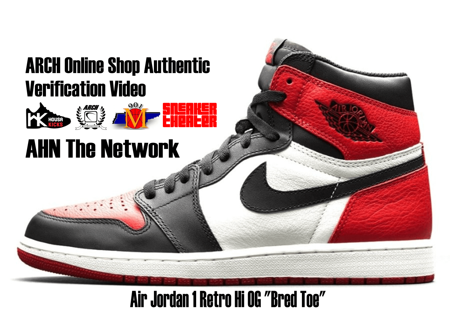 "4822d38ec26554 Air Jordan 1 Retro Hi OG ""Bred Toe"""