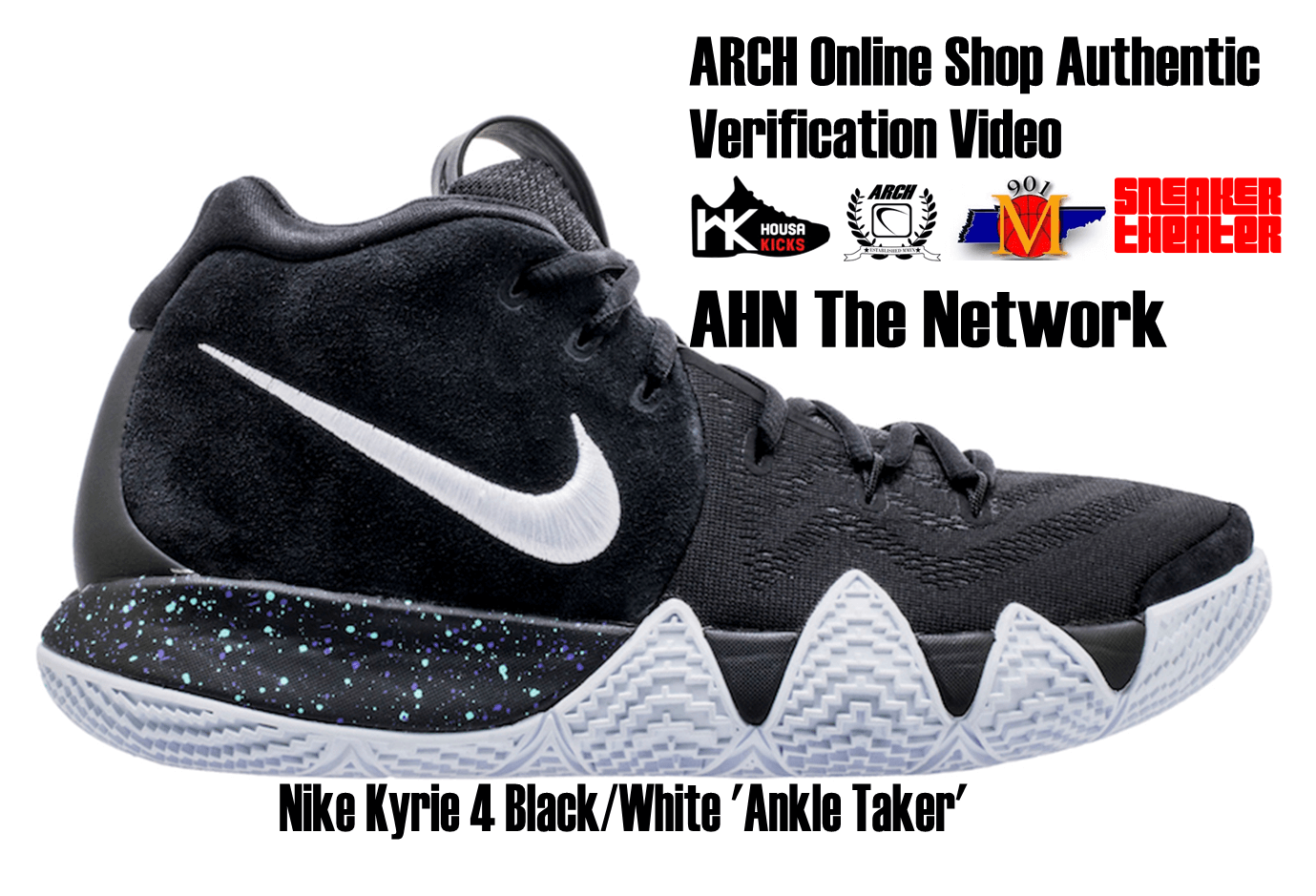 "new product 069ca b2213 Nike Kyrie 4 ""Ankle Taker"" 