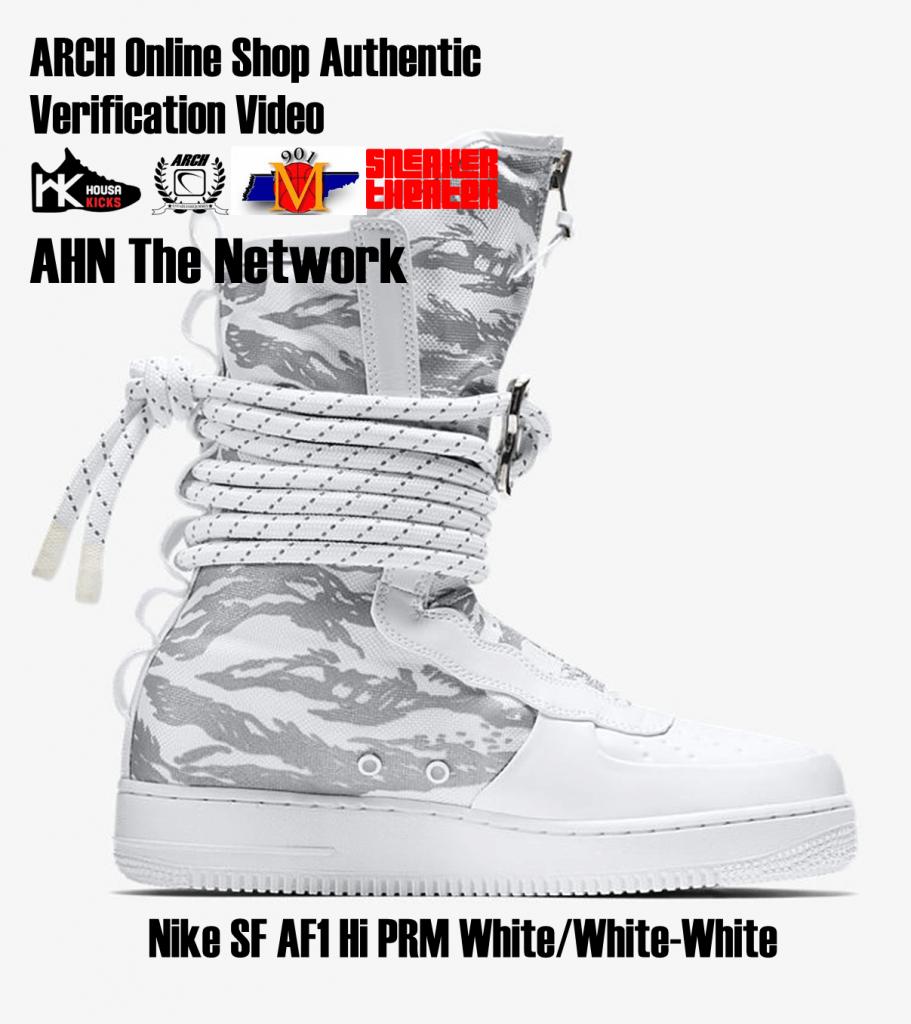 bb0dc642cb48 Nike SF AF1 Hi PRM White