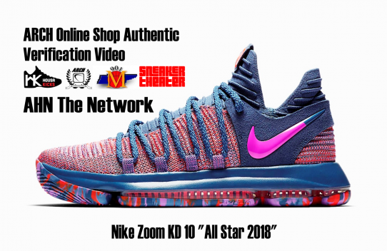 "Nike Zoom KD 10 ""All Star 2018"" 