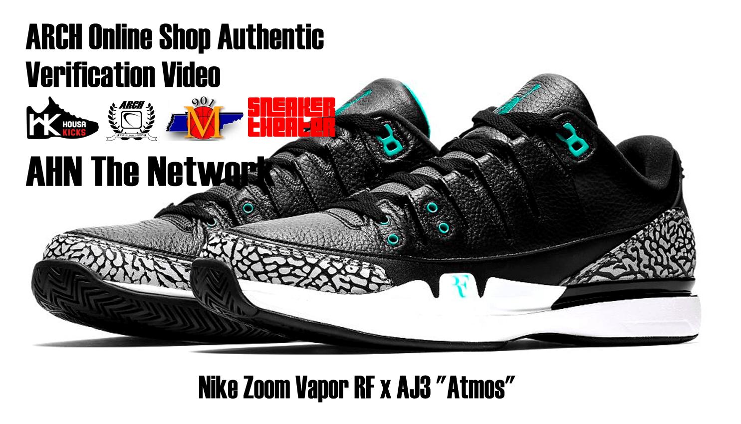"""Nike Zoom Vapor RF x AJ3 """"Atmos"""
