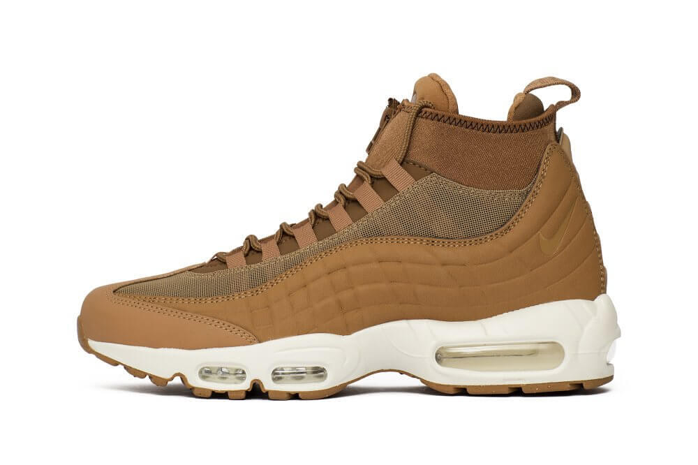 Nike Air Max 95 Sneakerboot (FlaxAle Brown Sail) – ARCH USA