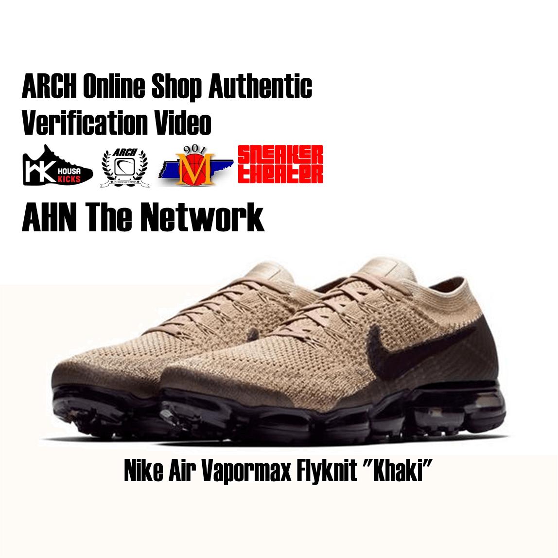 premium selection 58c28 7b35f Nike Vapormax Flyknit 'Khaki' | Authentic Verification ...