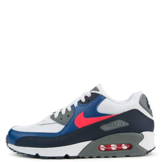 lowest price f1567 0aa5c Nike Air Max 90 Essential 'White/Solar Red-Obsidian' – ARCH-USA