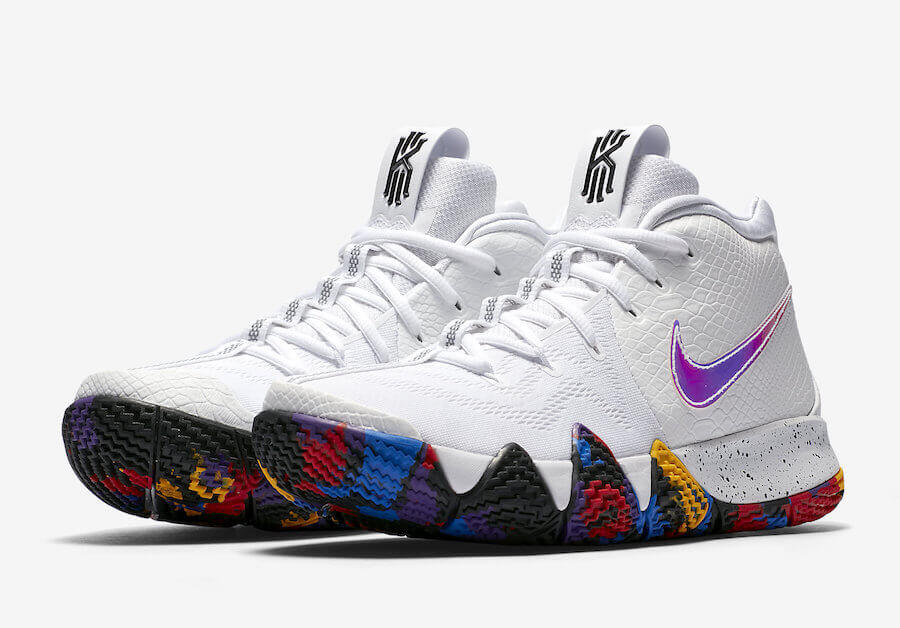the latest 31011 c433e Nike Kyrie 4 'March Madness' | Authentic Verification – ARCH-USA