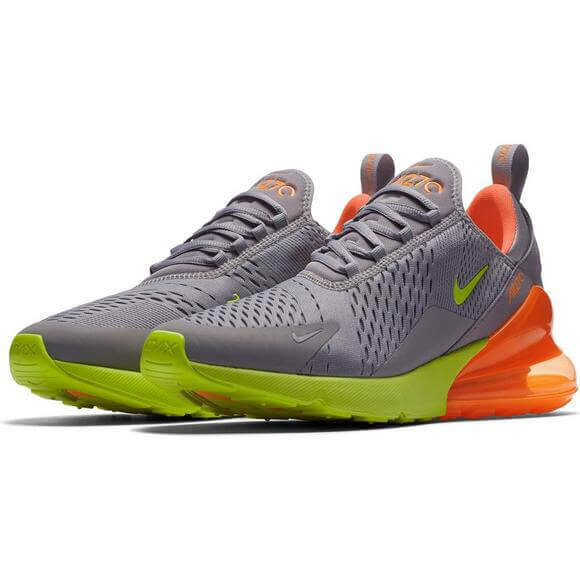 new product 9e39e fd624 Nike Air Max 270 'Atmosphere Grey/Volt-Orange'   Authentic ...