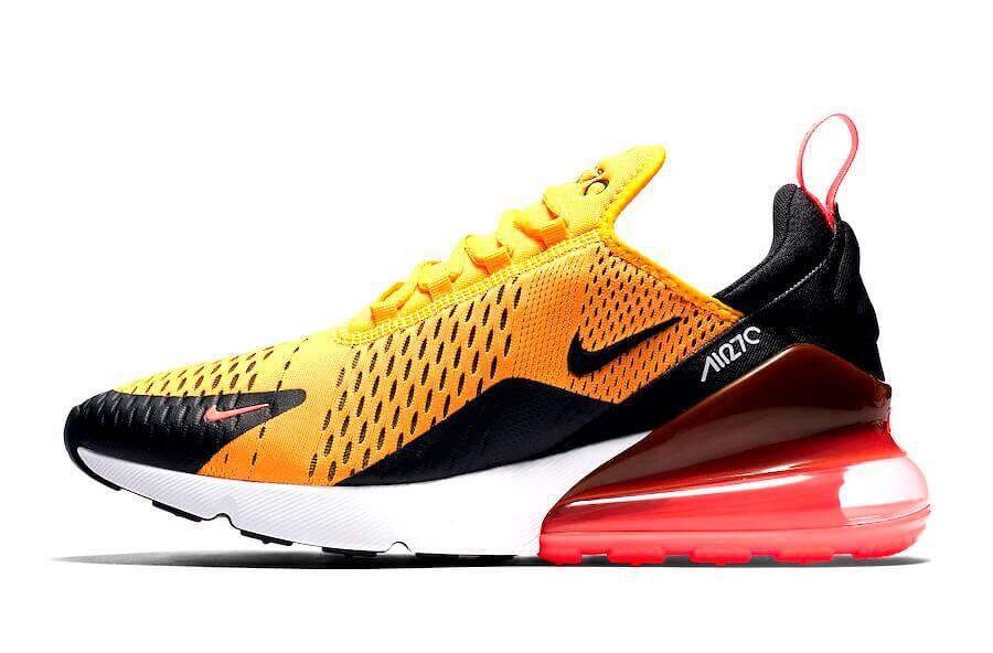 db33caa0518ce1 Nike Air Max 270  Black University Gold