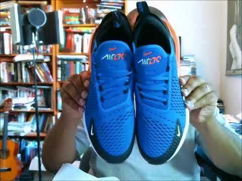 air max 270 racer blue