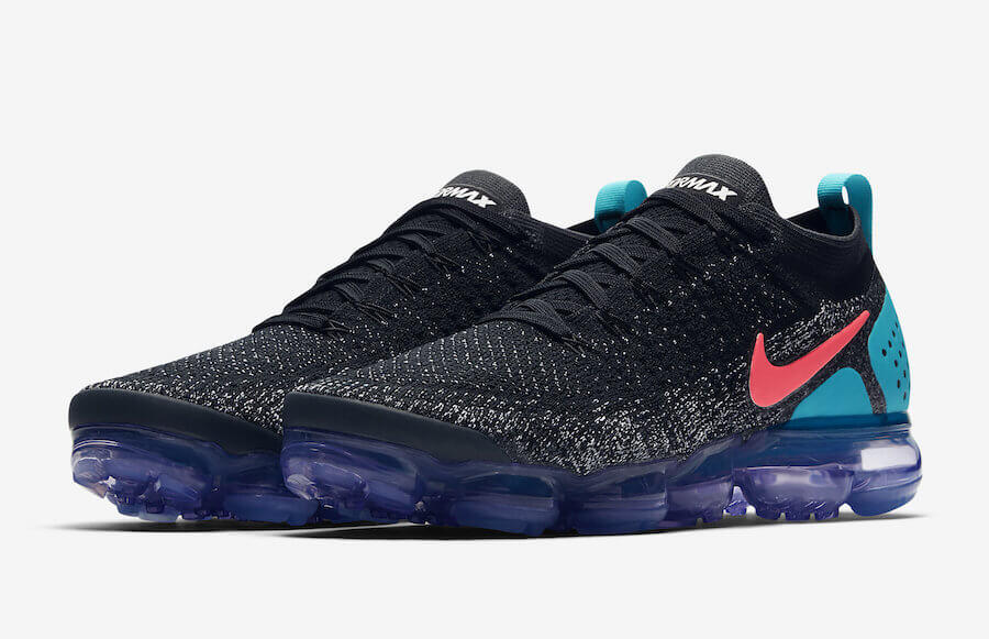 c76b3492e7d1e4 Nike Air Vapormax Flyknit 2 Black – Hot Punch