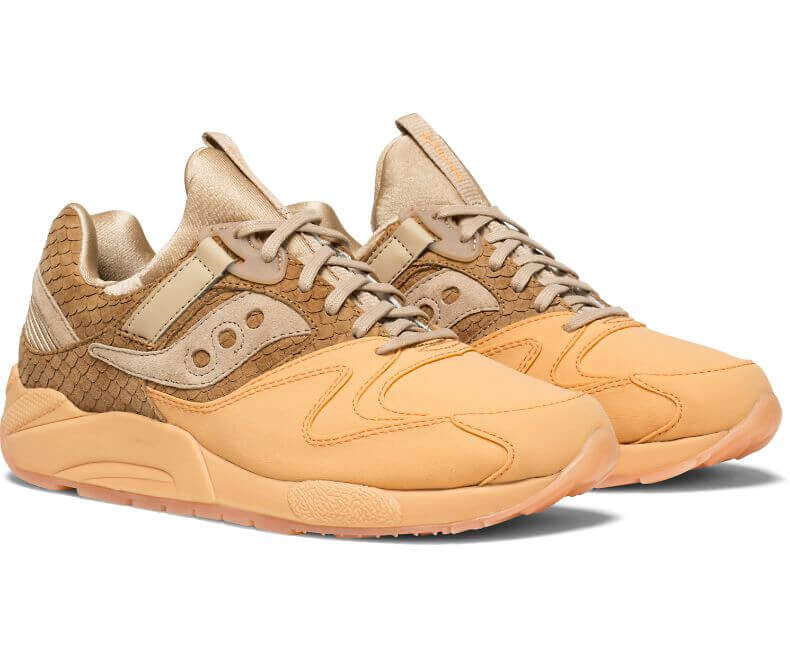 the latest 6bd41 12baf The Saucony Grid 9000 HT Sherbet Pack in a Waffle Cone ...