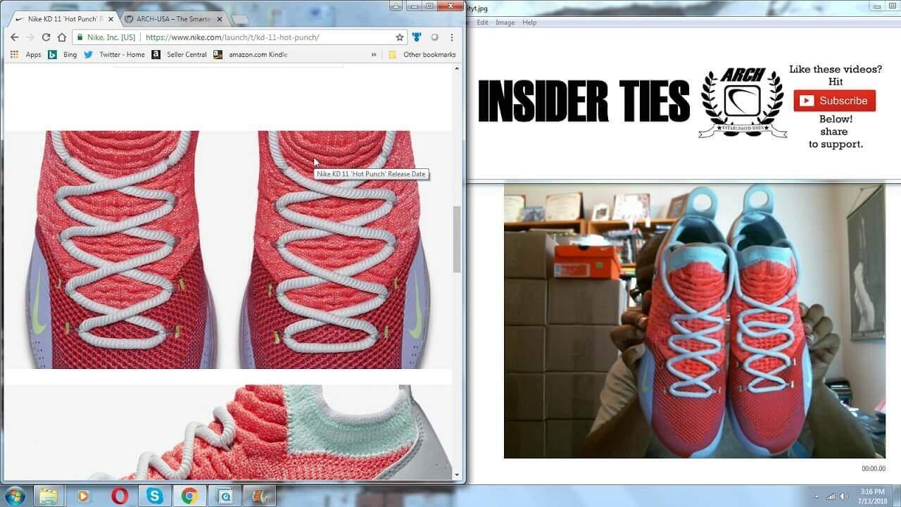 c9db50888f0 Insider Ties  Ep. 116  July 13th and Nike KD 11 Peach Jam EYBL ...