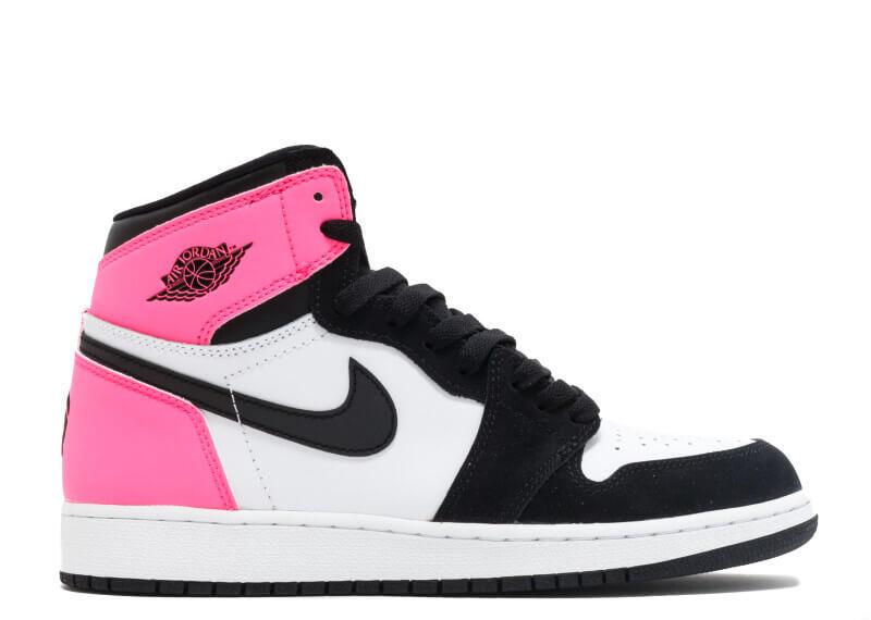 4605c6b54939 Air Jordan 1 High OG GG Valentines Day Black Hyper Pink-White ...
