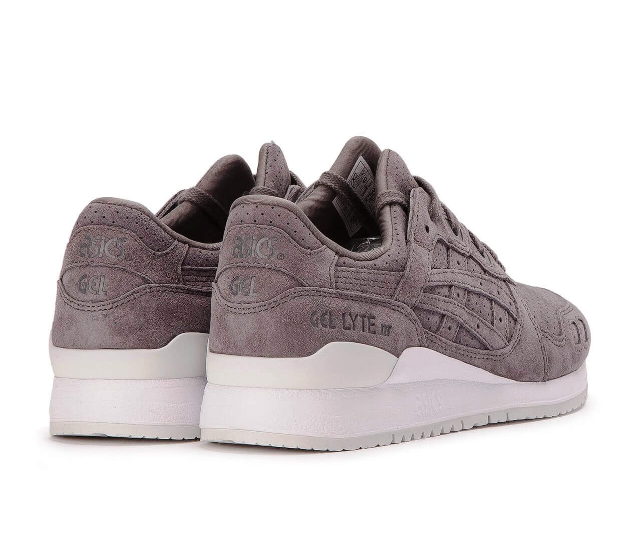 purchase cheap e7826 a38f5 ASICS Gel-Lyte III Aluminum/Aluminum HL7X2-9696 – ARCH-USA