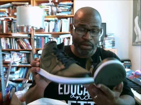 Air Jordan 1 Mid Olive Canvas/Black