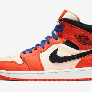 56e444a88121 ... Air Jordan 1 Mid Team Orange Black-Crimson Tint 852542-800 (Shattered  Backboard) ...