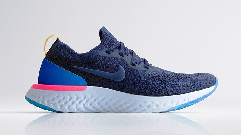 171f2d31937 Top 20 Sneakers of 2018 | #11 Nike Epic React Flyknit College Navy
