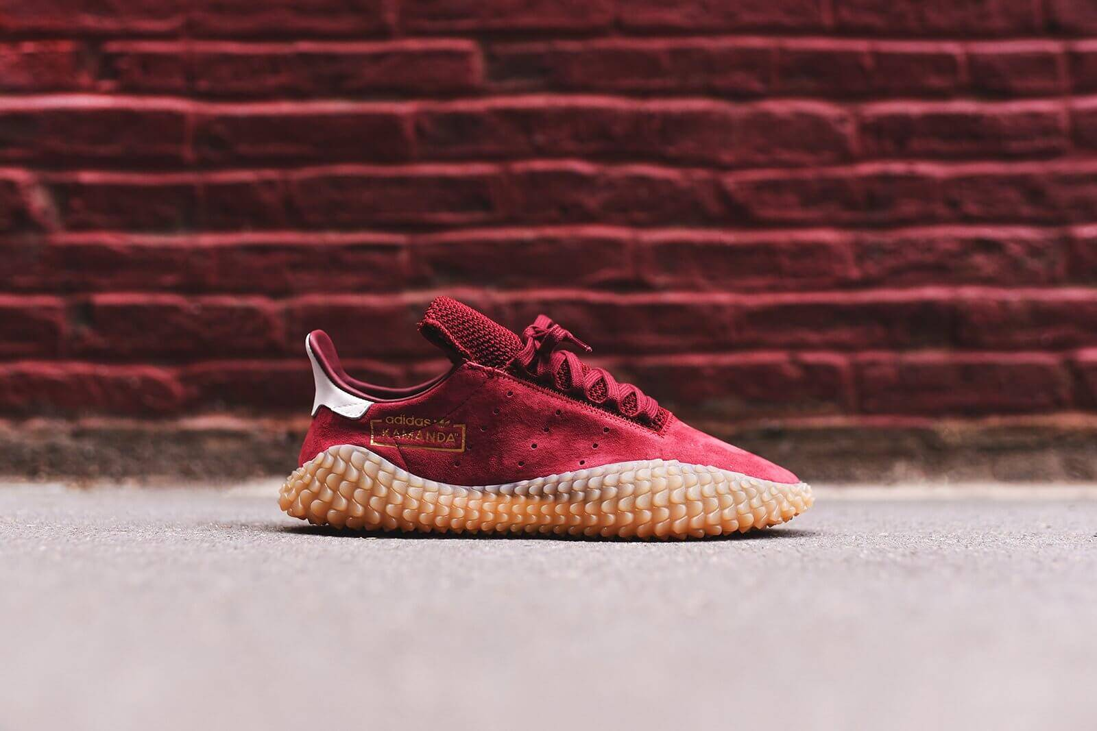 official photos 5e894 7471c Top 20 Sneakers of 2018  7 adidas Kamanda Consortium via Kith Burgundy –  ARCH-USA
