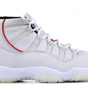 f8dcdf7acef ... Air Jordan 11 Retro Platinum Tint/University Red 378037-016