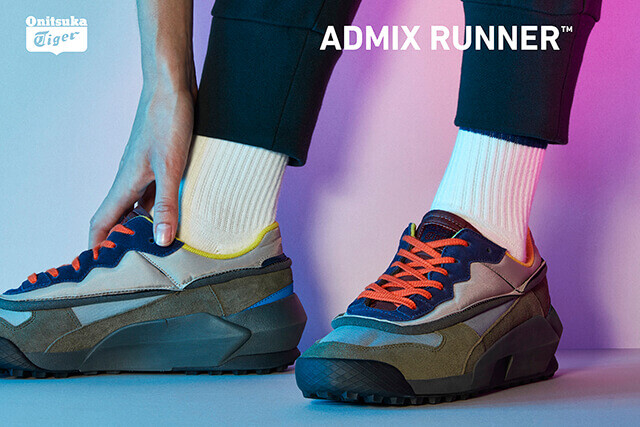 on sale b8b91 098db ASICS Delivers a Standout 'Dad' Shoe in the Admix Runner ...