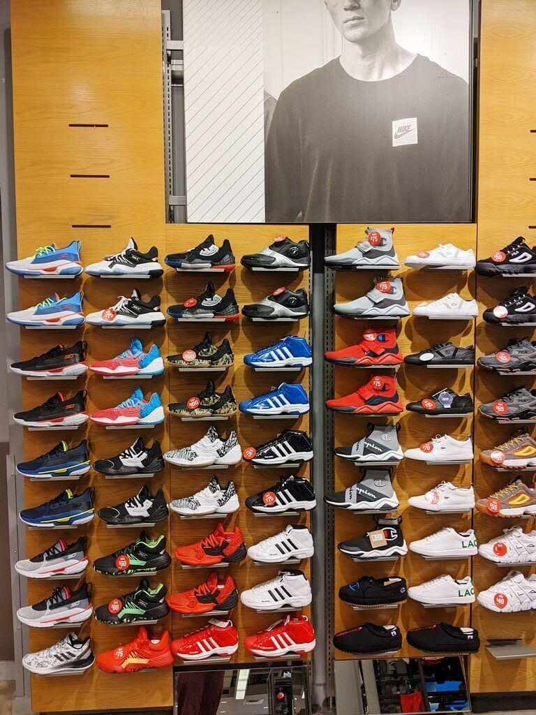 In-Store Visit Series: The Nike Wall is
